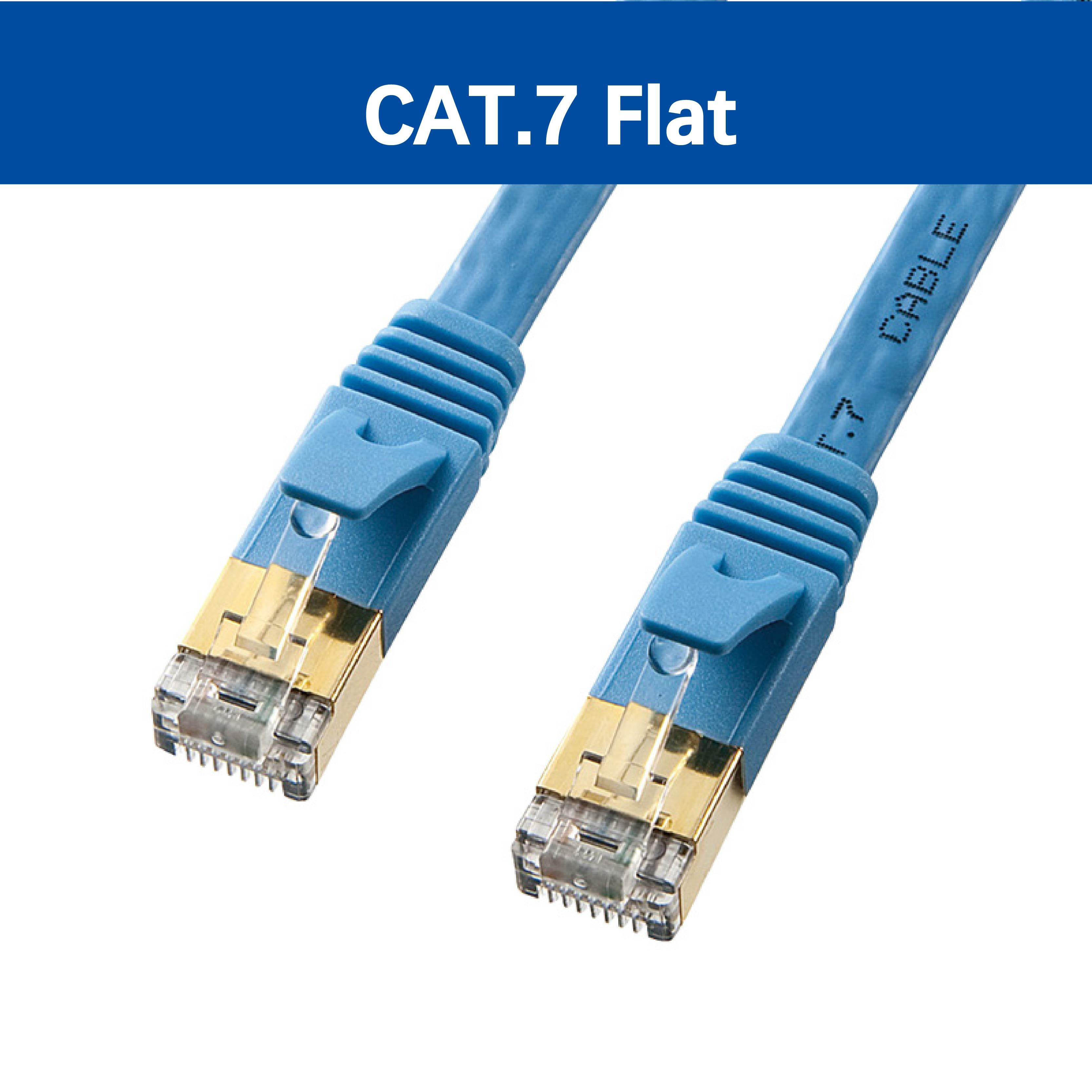 CAT 7 超高速網路扁線 (3.04M)