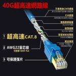 SANWA CAT 8 超高速網路線(1m)