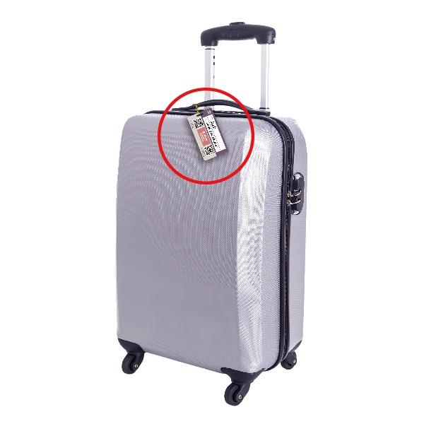 NFC行李箱協尋吊牌 二片裝